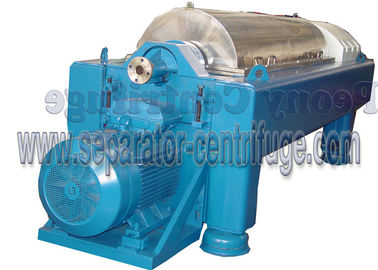 Chiny Automatic Continuous Decanter Centrifuge Machine for Slaughterhouse Waste Treatment dostawca