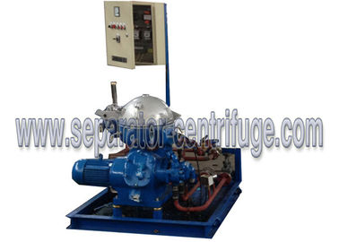Chiny Marine Oil / Diesel oil / Lubricant Centrifugal Separator Equipments Manual Discharging dostawca