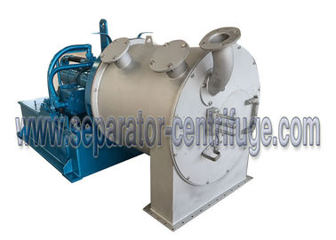 Chiny Continuous Two Stage Pusher Salt Centrifuge With CE Certificate dostawca