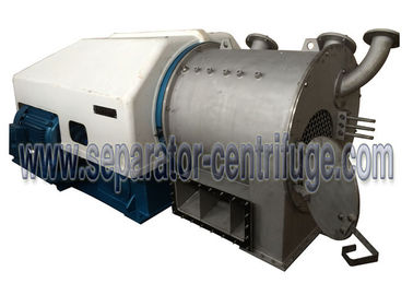 Chiny Control PLC Small Two Stage Pusher Type Centrifuge For Copper Sulphate Dewatering dostawca