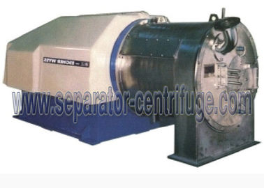 Chiny Two Stage Pusher Salt Centrifuge , Continuous Salt Dewatering Equipment / sodium chloride cenetrifuge dostawca