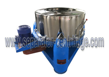 Chiny Model PTD Three Footed Manual Top Discharge Food Centrifuge / Liquid-solid Separation Machines dostawca