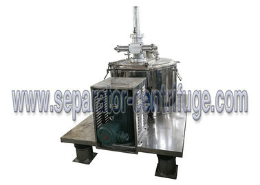 Chiny Scraper Bottom Discharge Chemical Centrifuge Machine / Perforated Basket Centrifuge dostawca