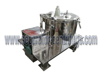 Chiny Batch Operate Food Centrifuge PPBL Bag Lifting Soya Meal Centrifuge Basket Centrifuge dostawca