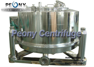 Chiny Bag Lifting Adjustable Speed Basket Centrifuge , Filter Equipment dystrybutor