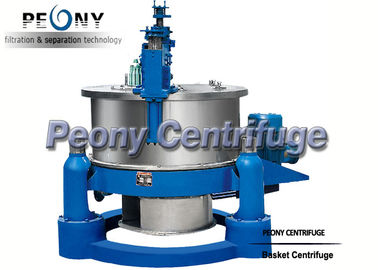 Chiny Horizontal Basket Centrifuge Pump / High Efficiency Separator / Scraper Bottom Discharge Centrifuge dystrybutor
