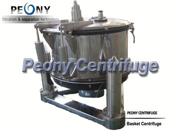 Chiny Manual Top Discharge Basket Centrifuge For Solid-liquid Separation And Chemical dystrybutor