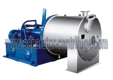 Chiny Large Scale Salt Centrifuge Machine Continuous Double Stage Pusher Centrifuge dystrybutor
