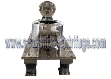 Chiny Hydraulic Scraper Bottom Horizontal Centrifuge Equipment / Perforated Basket Centrifuge dystrybutor