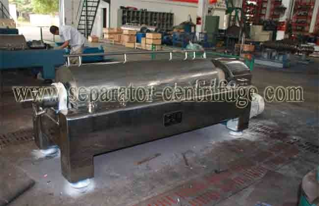 Sewage Treatment Decanter Centrifuges Sludge Thickening and Dewatering Centrifuge