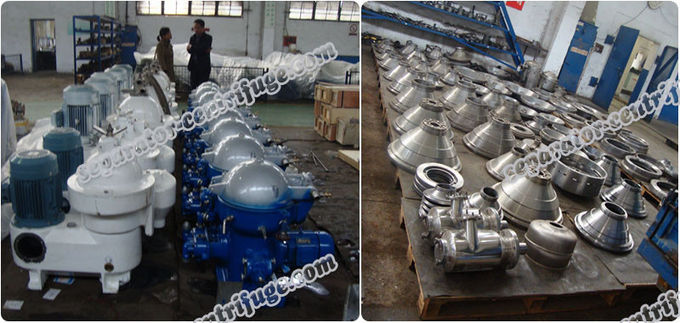 Disc Nozzle Automatic Food Centrifuge for Palm Oil Extraction